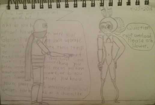 SP56 and A_Creator's Robot Girl OC by TGMProductions