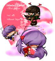 AUF's Valentine's Contest: Bistre's Cards contest! by ITBluebeadTI