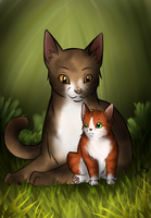 Mother and Son by AnnMY