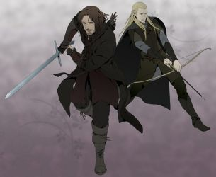 LOTR by doubleleaf