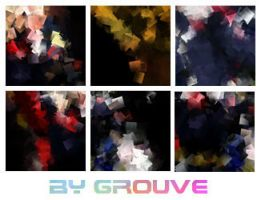 Colourful textures by Grouve