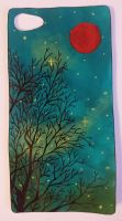 Phone case - Green sky by Anonymous---Lucifer