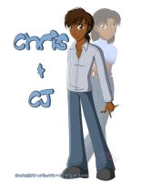 Chris and CJ by artisticTaurean
