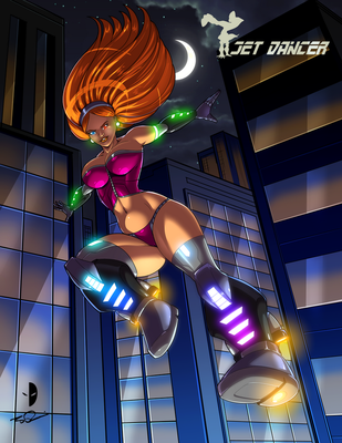 Jet Dancer 2018 by Dualmask