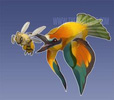 Bee Eater by skulldog
