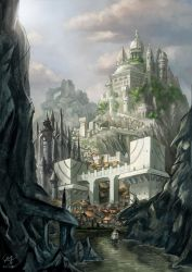 Capital of Norborg by Qube-Core