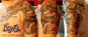 Dragon japan 2008 by BPS-TATTOO