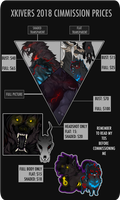 Commission Prices 2018 [Not open for a while] by Khiiver