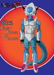 King Eis First Form Alt Color by newbuu