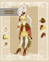 CLOSED Adoptable Outfit Auction: Steampunk Elegant by Hassly