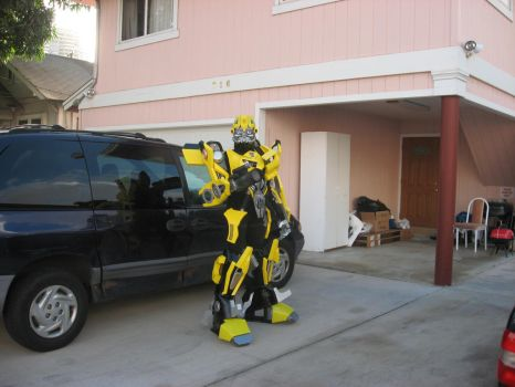 Transformers costume by orudorumagi11