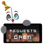 Ennard Requests OPEN Stamp by Ink-cartoon