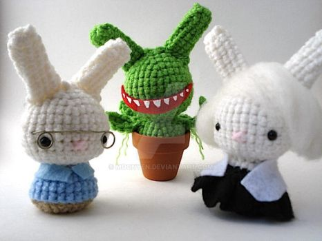 Little Shop of Horrors Buns by MoonYen