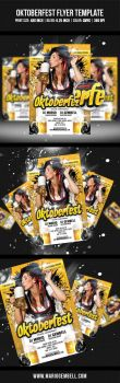 Oktoberfest Flyer Template by MarioGembell