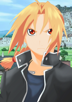 Edward Elric by LokiFT