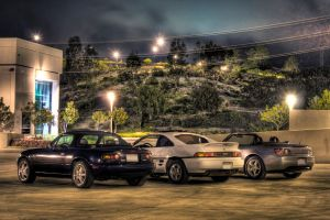 Miata-MR2-S2000 HDR by Bloodred070
