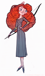 Merida by lemurali