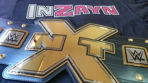 NXT CHAMPIONSHIP by imranbecks