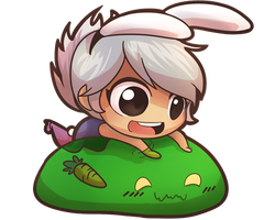 AT: Zac x Riven by KittyConQueso