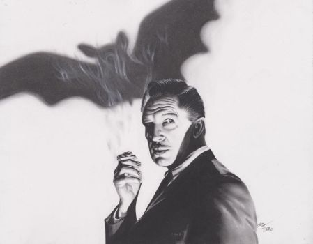 Vincent Price in The Bat by xabigal-eyesx
