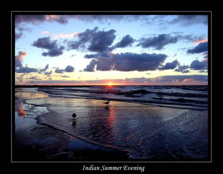 Indian summer evening by lux69aeterna