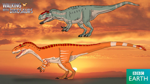 Walking with Dinosaurs: Saurophaganax by TrefRex