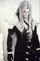 Sephiroth by MichaelWarrenTaylor