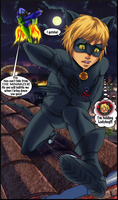 Not The Time For That, Chat Noir by Jessica-Rae-3