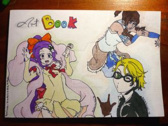Portada Art Book by rashel-shiru