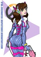 D'Va: Overwatch by Inspector97
