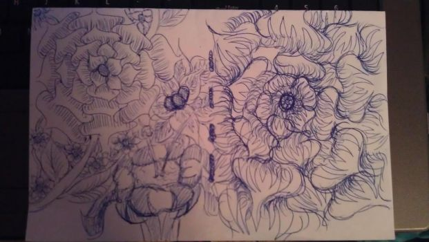Folded flowers by The-Naked-Smurf