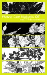 Flower Line textures 06 by mini0714