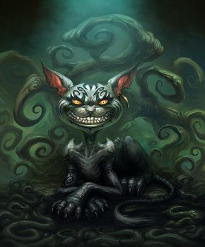 Cheshire Cat by Snugglestab