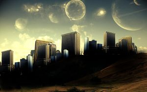 Future city by Grubshaw