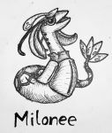 Pokemon-Fusion Milonee by fullhex