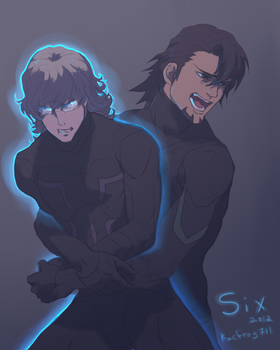 SIX - 2012 - Tiger and Bunny by kacfrog711