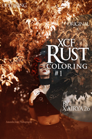 XCF Coloring #1 - Rust by XaiRYA26