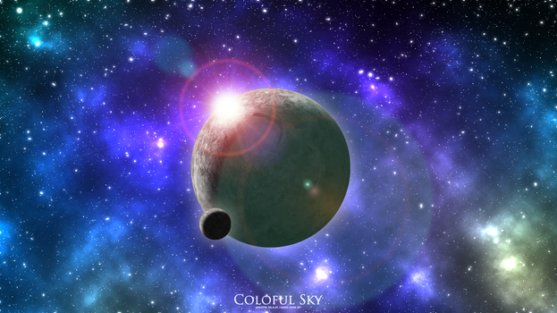 Coloful Sky by SolidGx