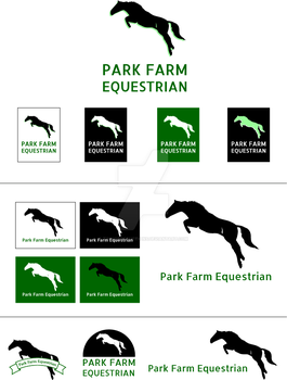 Park Farm Equestrian Logo by timmoproductions