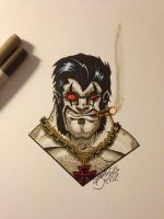 Copic Lobo by BouncieD