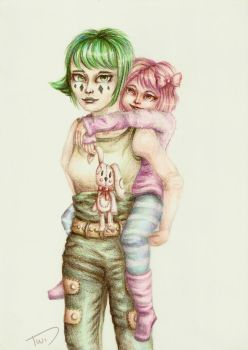 Noona and Hazel by Link-of-the-twilight