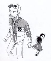 SHO: Travis Grady and Alessa by Seal-of-Metatron