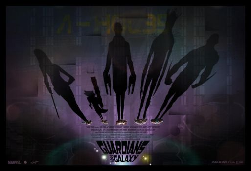 Guardians Of The Galaxy by AndyFairhurst