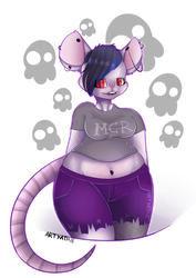 Mona .:Point-Commission:. by ArtyAthie