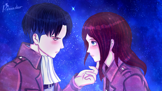 SNK / AOT - Shut it - Contest Entry by Pexxastar