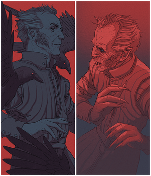 TW3: more Regis by coupleofkooks