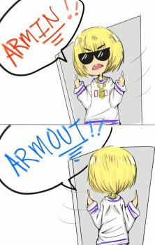 Armin is too cool for us by somuchfeels