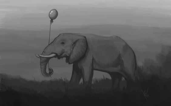 The elephant by Brie91