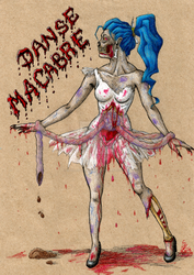 CP: Zombie for Yaoi-Hirako by MusicAndArtItsMyLife