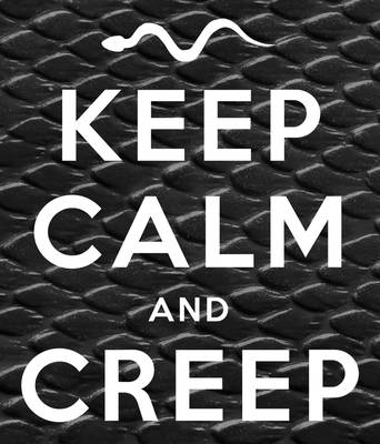 CEEP CALM AND CREEP by Cube-with-a-heart